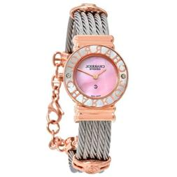 Charriol 028PCD1.540.455 Women's St. Tropez Pink Mother of P