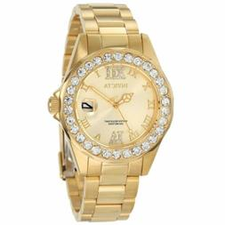 Invicta 15252 Women's Pro Diver Gold Dial Crystal Accented W