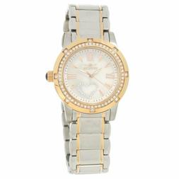 Invicta 16707 Lady's MOP Dial Two Tone Yellow Gold Steel Wat