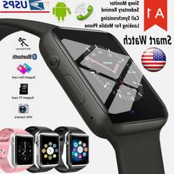 2018 A1 Bluetooth Smart watch Wristwatch for Android Phone I