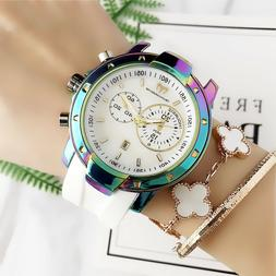 2019 New Women's Dress TechnoMarine Watch Bear Silicon Rubbe