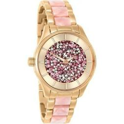 Invicta 25244 Angel Women's Rose-Tone and Pink Inserts Stain
