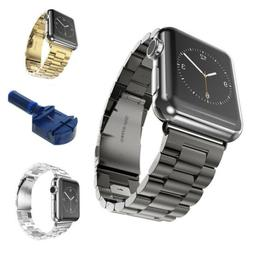 38MM 42MM Mens/ Womens Stainless Steel Metal for Apple Watch
