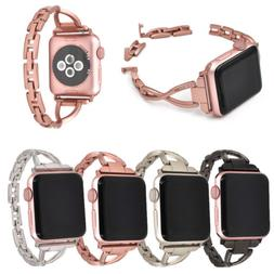 38mm/42mm Stainless Steel Bracelet iWatch Band Women Strap f