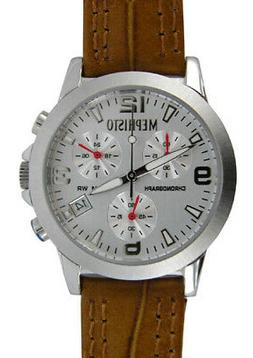$400 Mephisto Women's All Stainless Steel Genuine Leather Ch