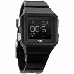 Adidas ADH4003 Black Digital Watch Peachtree  Mens Womens Un