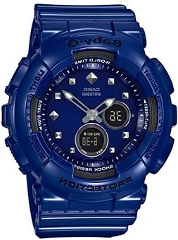 Casio Baby-G BA125-2A small-Size Analog-Digital 2 Eye Blue