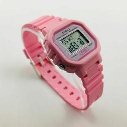 Casio Women's Classic Digital Quartz Resin Pink Watch LA-20W
