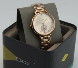 Fossil Watch ES4438 Ladies Woman Rose Gold Watch Authorized