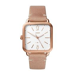 Fossil Women's 'Micah' Quartz Stainless Steel and Leather Ca