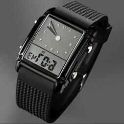 Luxury Sport LED Digital Date Men Women Waterproof Silicon M
