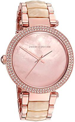 Michael Kors MK6492 Women's Parker Pink Mother of Pearl Dial