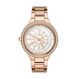 NEW IN BOX MICHAEL KORS WOMEN'S TARYN ROSE GOLD-TONE WATCH M