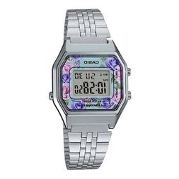 NEWEST Casio LA680WA-2C Women Mid-Size Silver Digital Retro