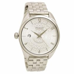 Nixon Women's Bullet 38mm Stainless Stamped Dial Stainless S