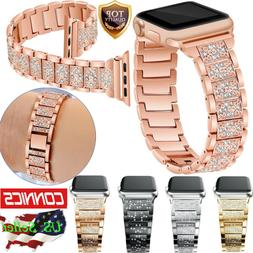 Stainless Steel Bracelet iWatch Band Strap For Apple Watch S