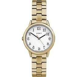 Timex TW2R58900, Easy Reader, Women's Gold-Tone Expansion Wa