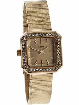 Timex Women's Classic T2P551 Rose-Gold Metal Japanese Quartz