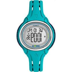 Timex Women's TW5K90600 Ironman 50 Lap Pool Blue Silicone St