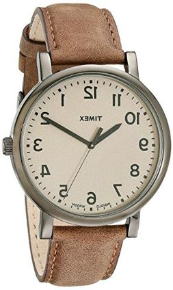 Timex® Men's Originals with Taupe Classic Round Dial and