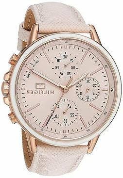 Tommy Hilfiger Original 1781789 Women's Cream Leather Watch