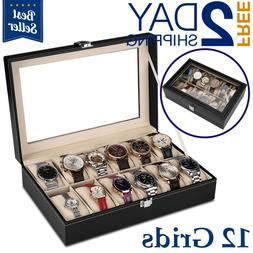 Watch Box Organizer For Men And Women - Jewellery Watch Case