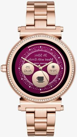 Michael Kors - Access Sofie Smartwatch 42mm Stainless Steel
