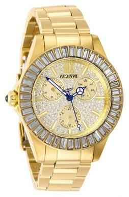 Invicta Angel 28448 Women's Roman Numeral Analog Gold Tone D