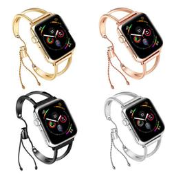 for Apple Watch Band 42 38mm Women Cuff Band Strap Bracelet
