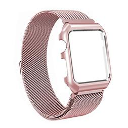 Apple Watch Band 38mm Milanese Loop Stainless Steel Mesh wit