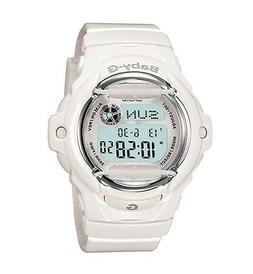 "Casio Women's BG169R-7A ""Baby-G"" White Resin Sport Watch"