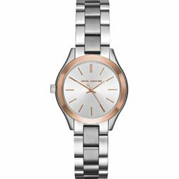 Women's Michael Michael Kors 'Slim Runway' Bracelet Watch, 3