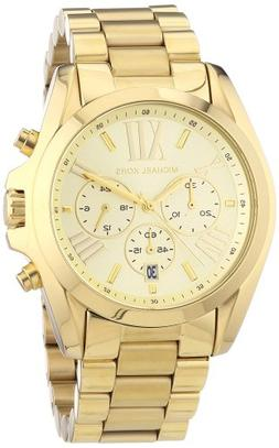 Michael Kors Bradshaw Chronograph Gold-tone Unisex Watch MK5