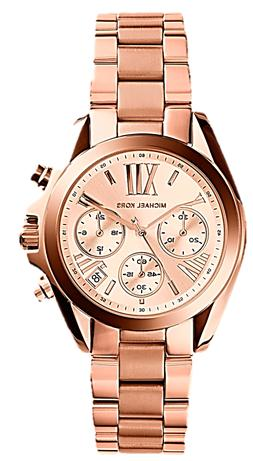 Michael Kors Women's Bradshaw Rose Gold-Tone Watch MK5799