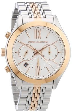 Michael Kors Brookton Two-Tone Stainless Steel Women's Watch