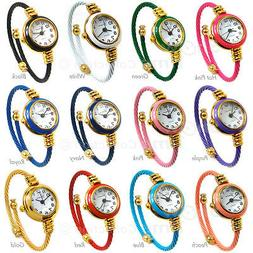 cable band gold accent women s small
