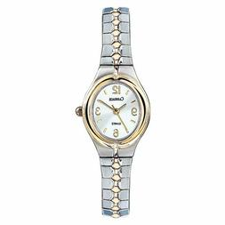 Timex Carriage C6A241, Women's 2-Tone Expansion Band Watch,