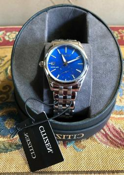 Citizen Corso Eco-Drive Women SS Mother of Pearl Blue Dial L