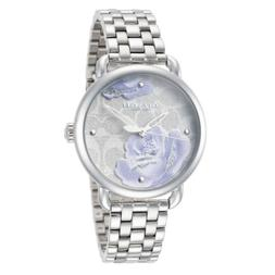 Coach Delancey Silver Band Water Resistance Watch 14503163 $