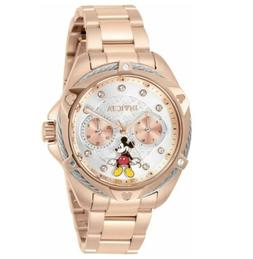 Invicta Disney Women's 38mm Limited Edition Rose Gold Mickey