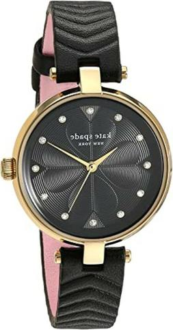 Kate Spade Dress Watch KSW1546 Black and Pink