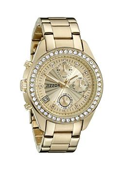 Fossil Women's ES2683 Decker Gold-Tone Stainless Steel Watch