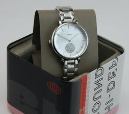 Fossil ES4437 Women's Jacqueline Silver Dial Stainless Steel
