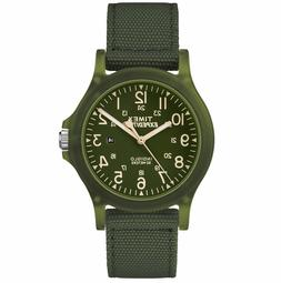New Timex Expedition Acadia Mid Size Nylon Strap Outdoor Wat