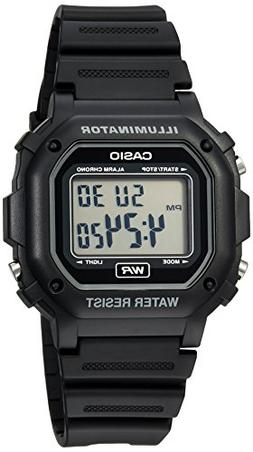Casio Men's F108WH Illuminator Collection Black Resin Strap