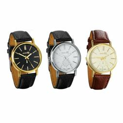 Fashion Luxury Men's Women's Quartz Analog Dial Sport Wrist