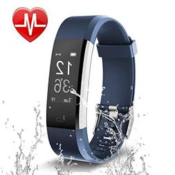 Letsfit Fitness Tracker, Activity Tracker with Heart Rate Mo