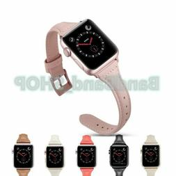 Genuine Leather women Strap Watch Band for Apple Watch Serie