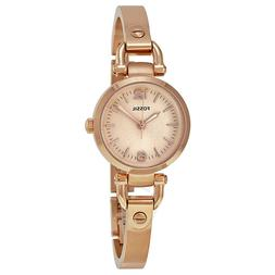 Fossil Georgia Mini Rose-Tone Stainless Steel Watch Es3268 P