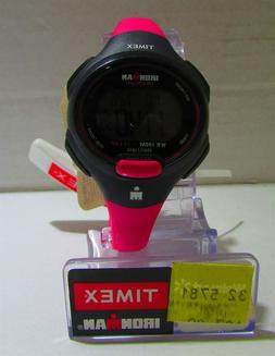 Timex Ironman 10-Lap Mid Size Watch - Hot Pink/Black